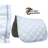 Tapis Dressage Palm Beach Blanc