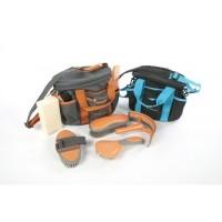 Kit de pansage, 7 pièces, Equi-Sky dans un sac en polyester 600D