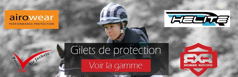 gilets de protection